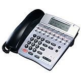 NEC 780068 ITN-16D-3 16-Button Dterm IP Phone with NEC Extended SIP Support (Black)